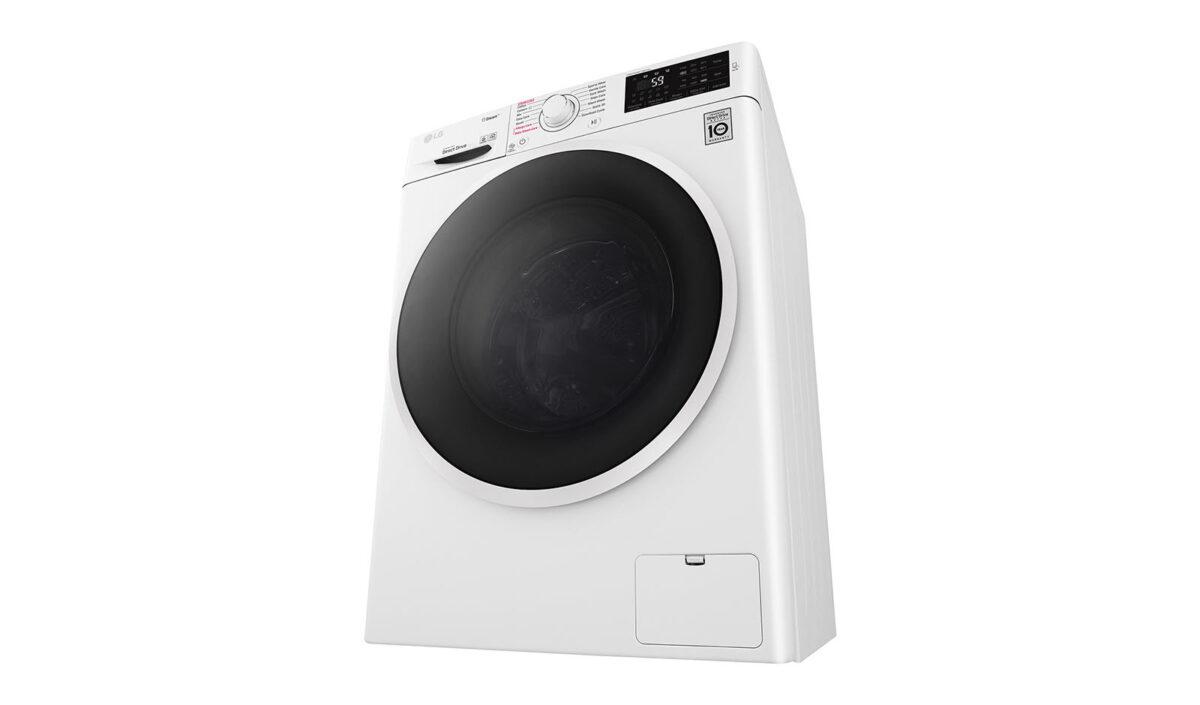 ماشین لباسشویی 7 کیلویی ال جی مدل WM-743sw با ضمانت نامه گلدیران