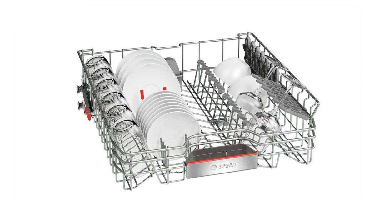 ماشین ظرفشویی ایستاده بوش مدل Bosch Series 6، SMS67TW02B با گارانتی: سیهاوی/کاراگستر/کاسپین/مهستان/سناپویان