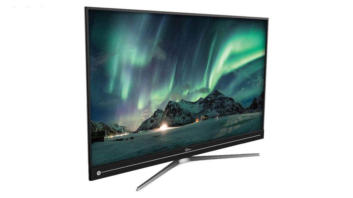 تلویزیون ال ای دی جی پلاس مدل GTV-55JU811N Ultra HD - 4K با ضمانت نامه گلدیران