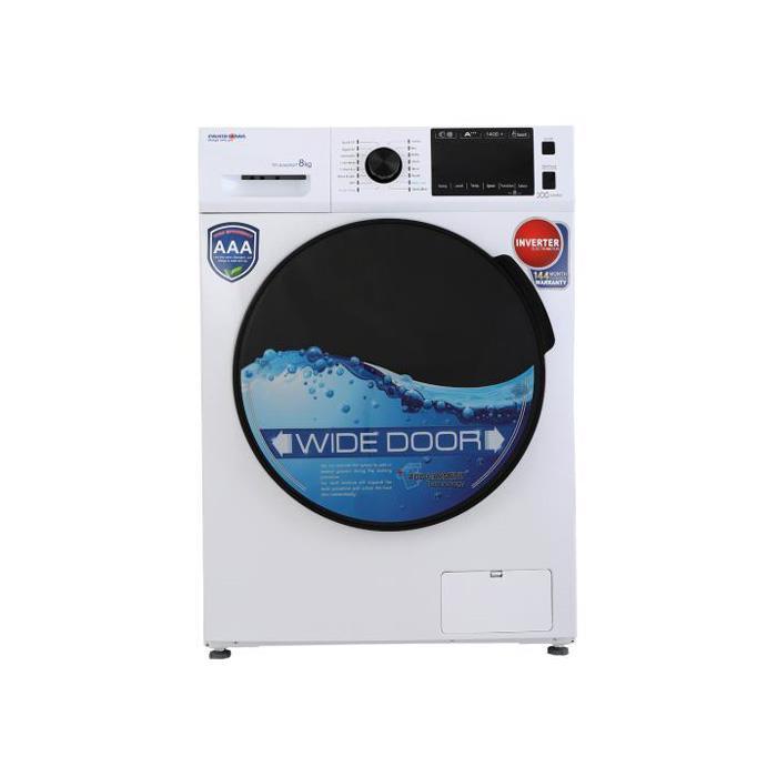 ماشین لباسشویی 8کیلویی پاکشوما مدل TFI-83402 WT با گارانتی پاک سرویس