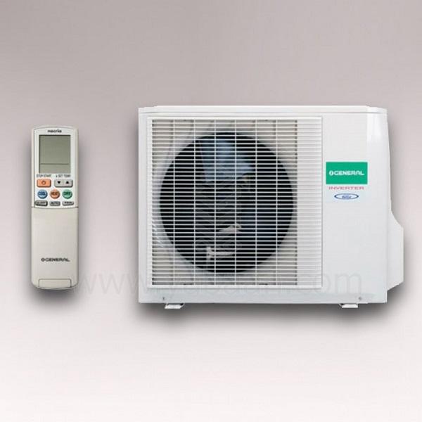کولر گازی 18000 هزار اجنرال سرد و گرم - کم مصرف مدل ASGS-18LFCA/AOGG-18LFC