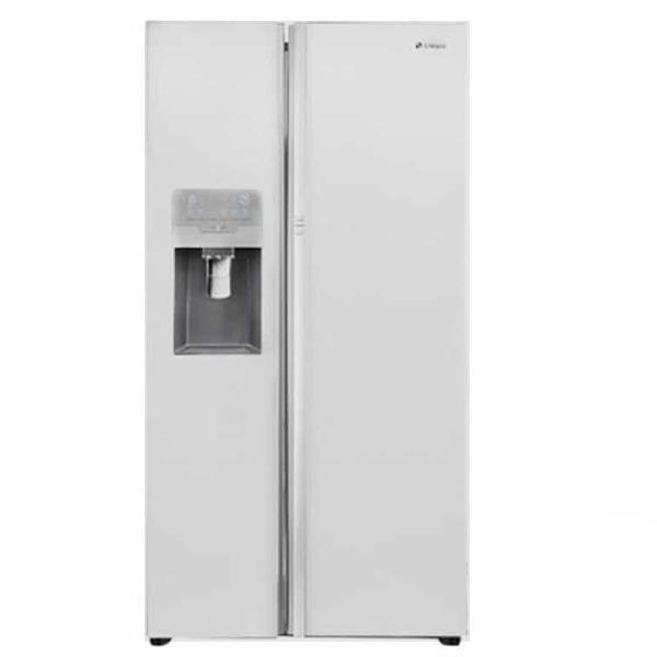 یخچال و فریزر ساید بای ساید اسنوا مدل S8-2350GW با ضمانت نامه انتخاب سرویس